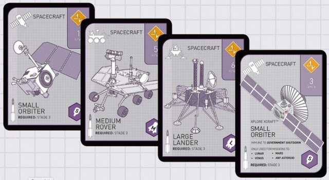 Xtronaut 2.0 playing cards