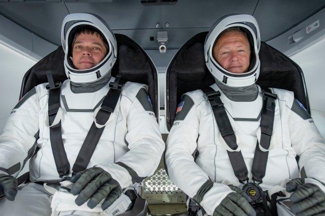 NASA crew for Crew Dragon