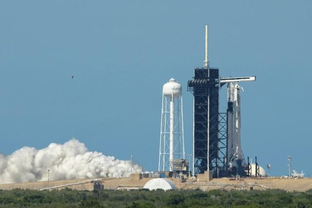 Falcon 9 static fire