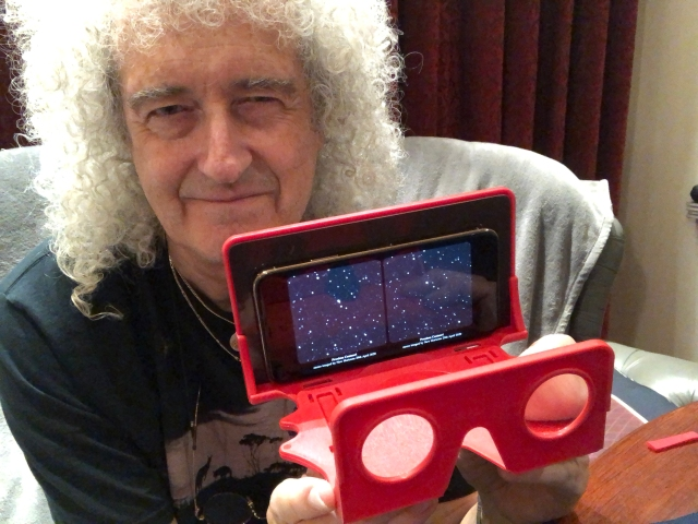 Brian May with OWL viewer