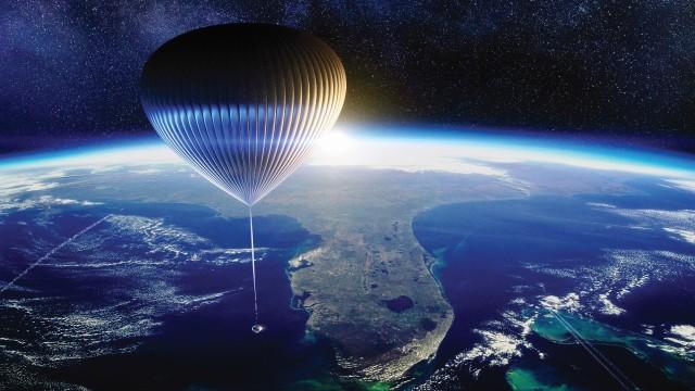 Balloon above Florida